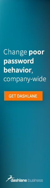 Dashlane Business - Change poor password behavior