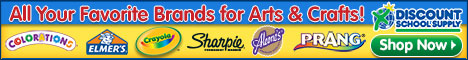 Save On Arts & Crafts At DiscountSchoolSupply!