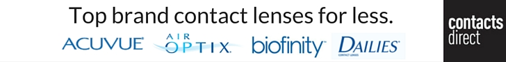 Shop top brand contact lenses for less at ContactsDirect.com.