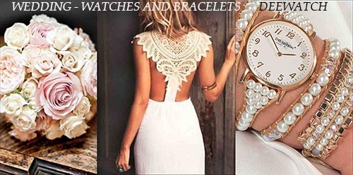 Deewatch Wedding Watches and Bracelets