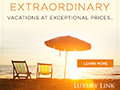 Save up to 65% on Luxury Travel