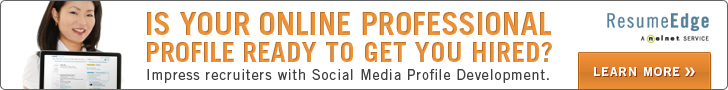 Online Professional Profile from ResumeEdge