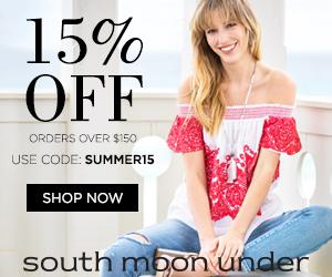 Summer Lookbook! Take 15% Off $150