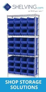 160x320 Shelving.com Shop Storage Solutions