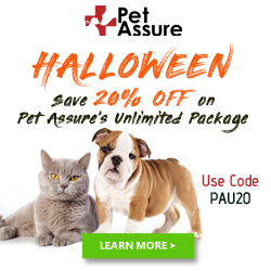 Save 20% Off on Pet Assure's Unlimited Package 250x250