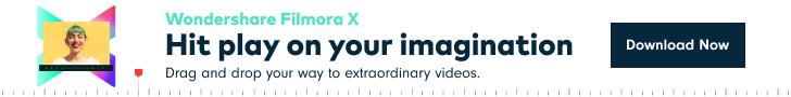 Wondershare Filmora X - Hit play on your imagination
