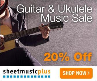 Guitar & Uke Music - 20% off