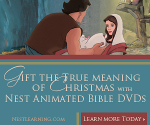 Nest Bible Interactive Bible DVDs from NestLearning.com