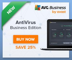 Get 25% off NEW AVG Antivirus Business Edition