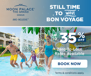 Browsing our special offers for later? Act now and enjoy at The Grand at Moon Palace.