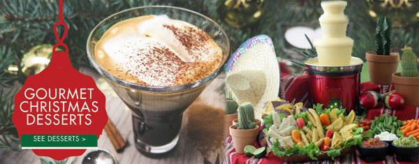 Christmas Special Gourmet Desserts
