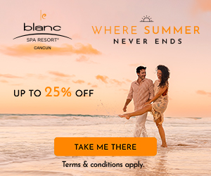 2 for 1 in Paradise at Le Blanc Spa Resort.