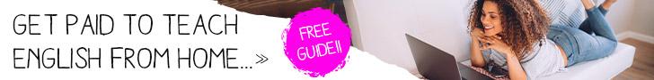 Teach English online - FREE guide