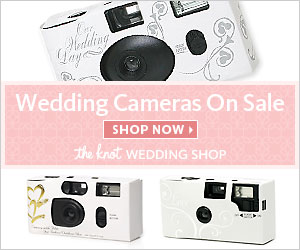 Wedding Cameras On Sale at The Knot Wedding Shop