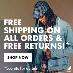 Free Shipping on all orders! No minimum purchase necessary!