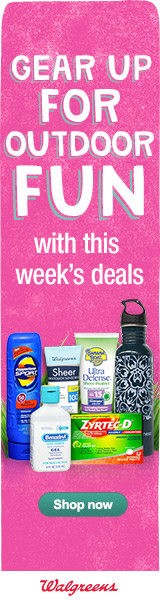Gear Up For Outdoor Fun with Savings from Walgreens
