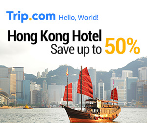 Hong Kong Hotel 50% OFF!