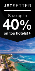 Save up to 40% on beautiful hotels