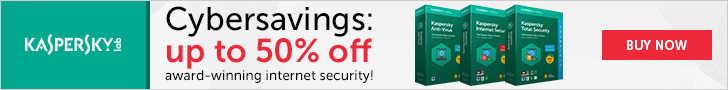Up To 50% Off Kaspersky Home Security Products
