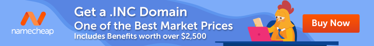 Get .INC today. One of the best market prices!