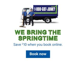 We bring the springtime. Save $10 when you book online. Book Now.