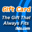 Gift cards from LIDS