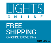 Shop more than 50 lighting and home decor brands at LightsOnline.com!