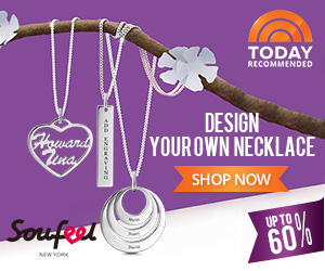 Design your own necklace! Start today at Soufeel! Save up to 60% off at www.soufeel.com