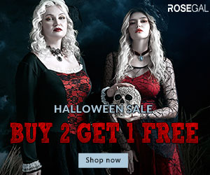 Halloween Sale-buy 2 get 1 free