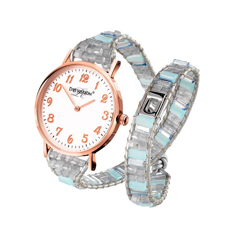 Dámské hodinky Deevotion Double wrap watch