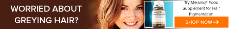Address hair greying with Melaniq and regain the color of your hair