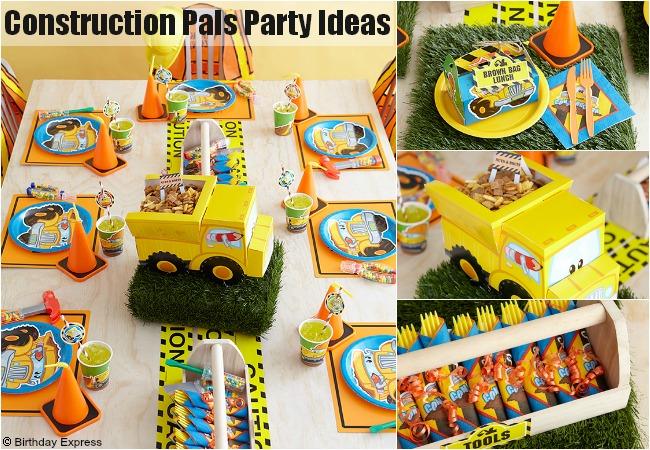Construction Party Ideas!