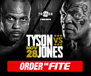 Mike Tyson vs Roy Jones Jr. - How To Watch, Live Stream, Fight Card 1