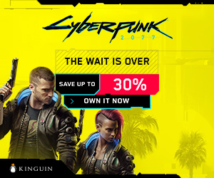 Cyberpunk 2077 is Available! UP to 30% OFF