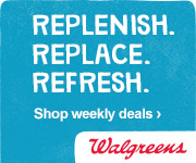 Restock your Home with Deals on Products You Use Every Day from Walgreens