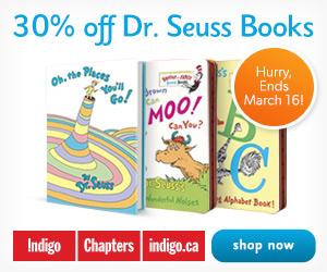 Let's Go Spring Break! 30% Off Dr. Seuss Books at Indigo.ca!