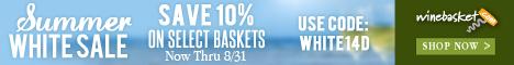 Summer White Sale. Now thru 8/31. Save 10%. Use code WHITE14D