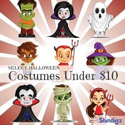Halloween Costumes - Under $10!