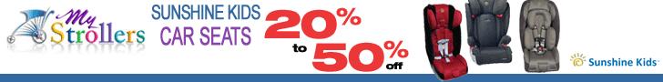 20-50% Off Sunshine Kids Car Seats at MyStrollers