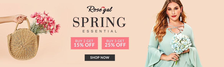 Rosegal Spring Essential