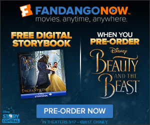 FandangoNOW - Beauty and the Beast Pre-Order GWP