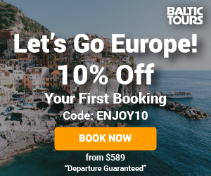 Let's Go Europe! 10% Off Your First Booking!