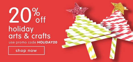 ARTS & CRAFTS PRODUCTS ON SALE! Save $20 OFF Orders $100 Or More Plus Free Shipping!