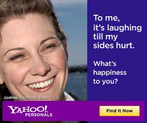 Yahoo! Personals - Give Fate a Nudge