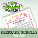 Personalized Keepsake Scrolls