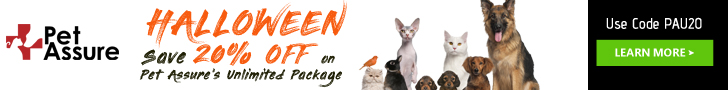 Save 20% Off on Pet Assure's Unlimited Package 728x90