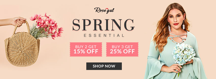 Rosegal Spring Essential