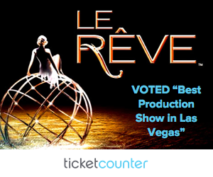 Purchase tickets to see Le Rêve in Las Vegas