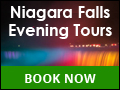 5 Star Rated Luxury Niagara Falls Evening Tours
