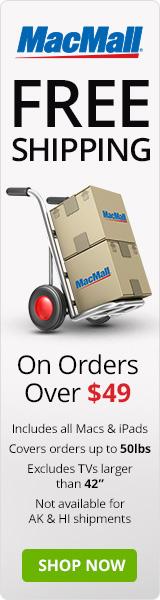 Free Shipping at MacMall